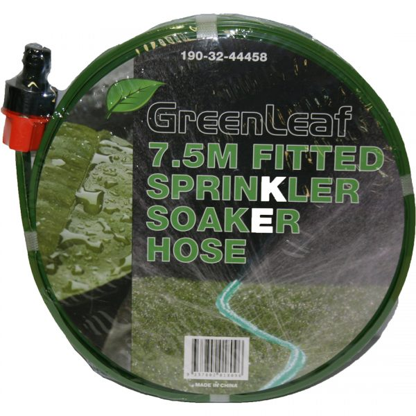 Sprinkler Soaker Hose 7.5m Fitted