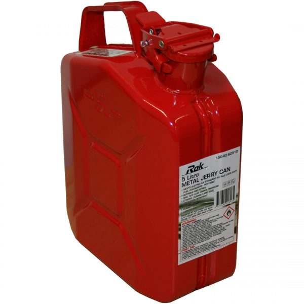 5L Metal Petrol Jerry Can