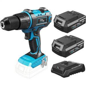 18V Cordless Impact Drill 2 Battery Kit