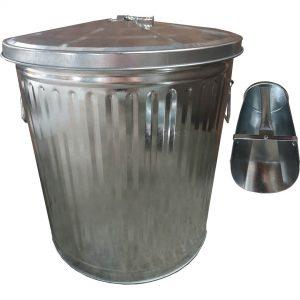 45L Metal Feed Bin&2L Scoop