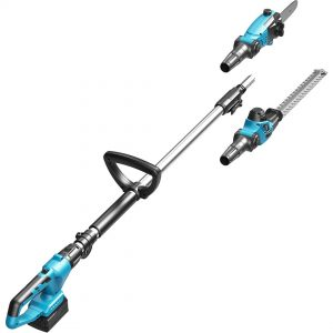 18V Cordless Hedge Trimmer and Pole Saw Kit