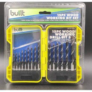 15pc Wood Working Drill Set