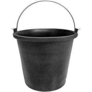 18L Concreters Rubber Bucket